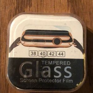 Black screen protector Apple Watch 40mm
